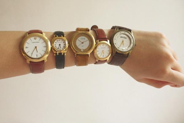 Необычные наручные часы Виниловая пластинка
