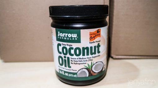 Кокосовое масло Jarrow Formulas Extra Virgin