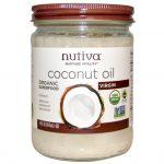 Нерафинированное кокосовое масло Nutiva