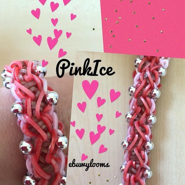 Плетение браслетов из резинок Rainbow Loom