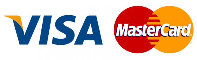 Visa илиMasterCard