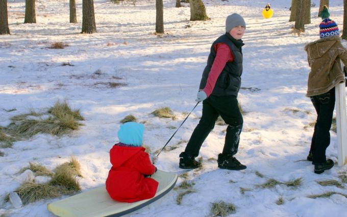 Санки ледянки для детей