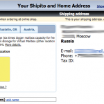 Доставка через Shipito в Россию (USPS Express Mail)